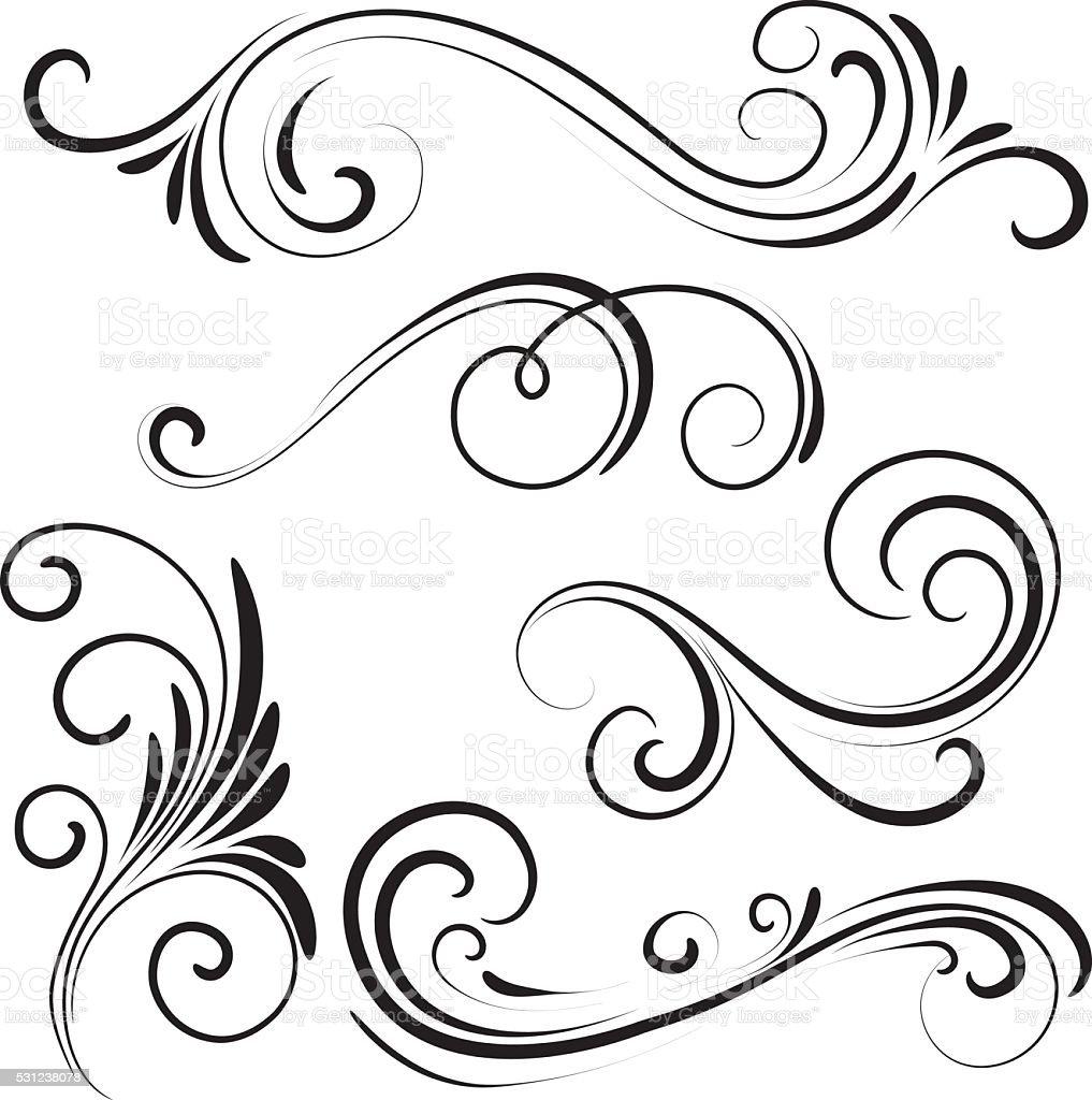 swirl stock vector art more images of illustration 531238078 istock. Black Bedroom Furniture Sets. Home Design Ideas