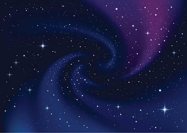 illustrations, cliparts, dessins animés et icônes de étoiles dans l'espace - ciel etoile