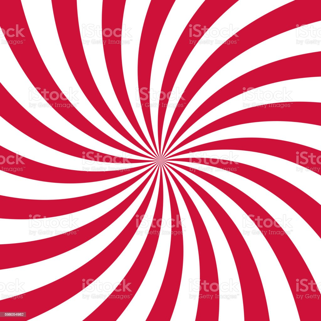 Swirling radial pattern background. Vector illustration vector art illustration