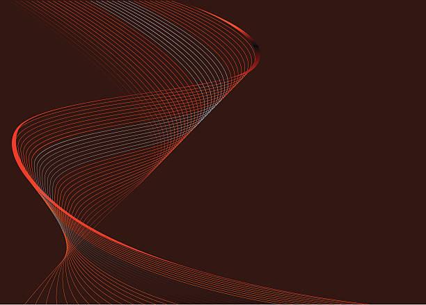 swirling subtle wave - sine wave stock illustrations