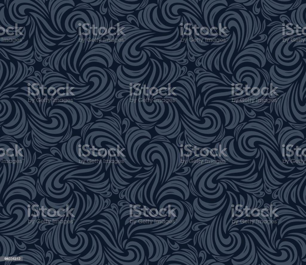 Volute carta da parati volute carta da parati - immagini vettoriali stock e altre immagini di blu royalty-free