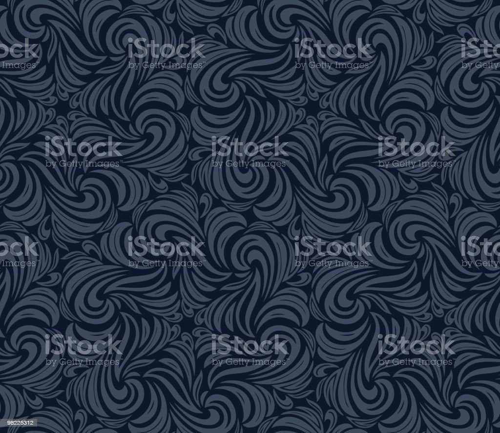 Swirling Wallpaper royalty-free stock vector art