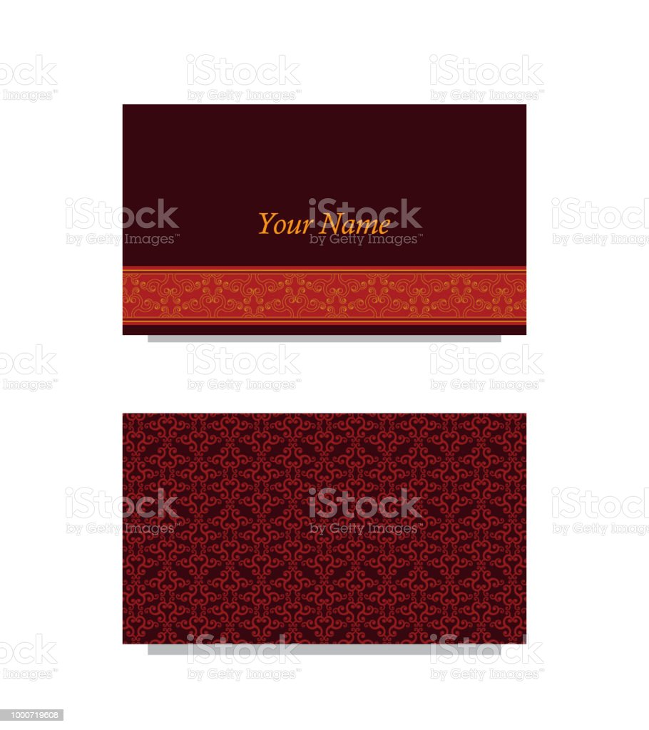 Swirls business card stock vector art more images of at symbol swirls business card royalty free swirls business card stock vector art amp more images reheart Image collections