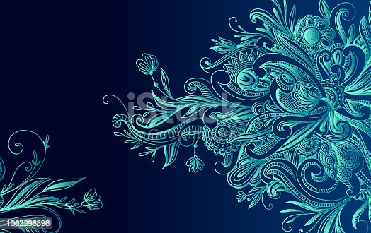 abstract swirly background