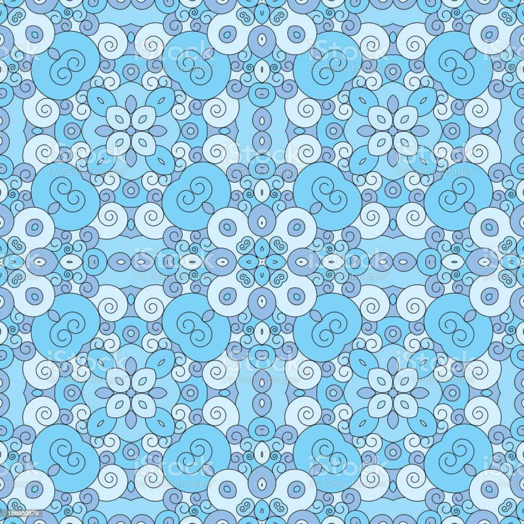 Swirly pattern royalty-free stock vector art