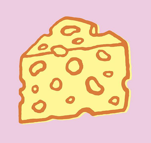 ilustrações de stock, clip art, desenhos animados e ícones de queijo suíço - queijo