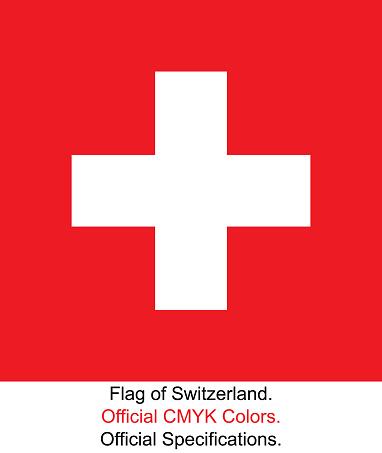 Schweizisk Flagga-vektorgrafik och fler bilder på Auktoritet