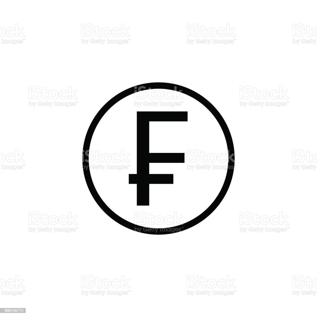 Swiss franc coin solid icon finance and business stock vector art swiss franc coin solid icon finance and business royalty free swiss franc coin solid buycottarizona Images
