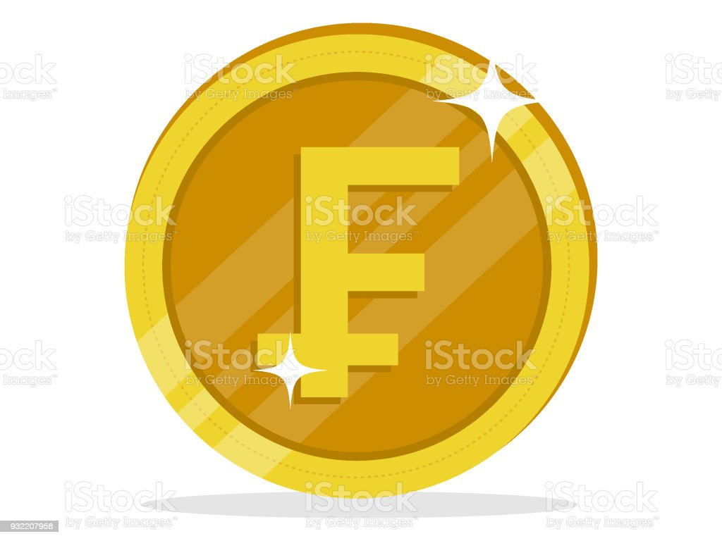 Swiss franc coin stock vector art more images of bank 932207958 swiss franc coin royalty free swiss franc coin stock vector art amp more images buycottarizona Image collections