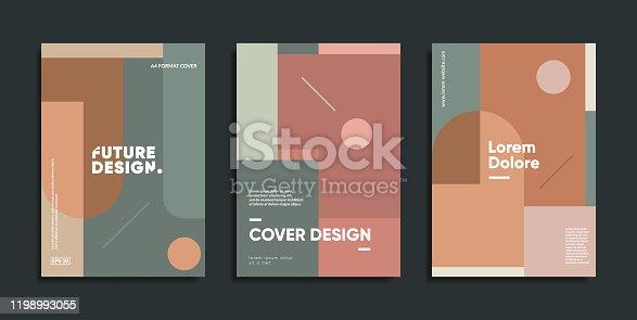 Swiss modernism covers set.