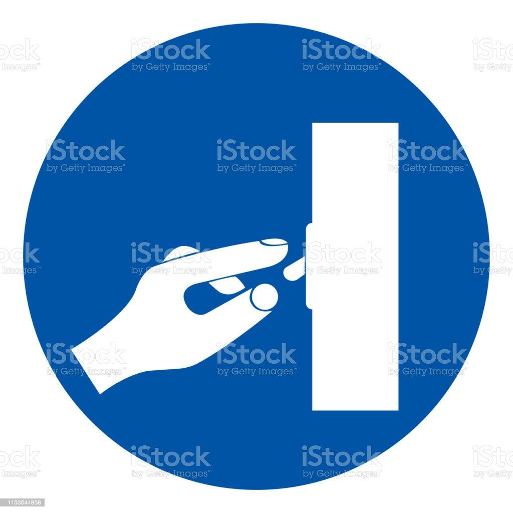 Schalteroffsymbolsign Vector Illustration Isolate On White