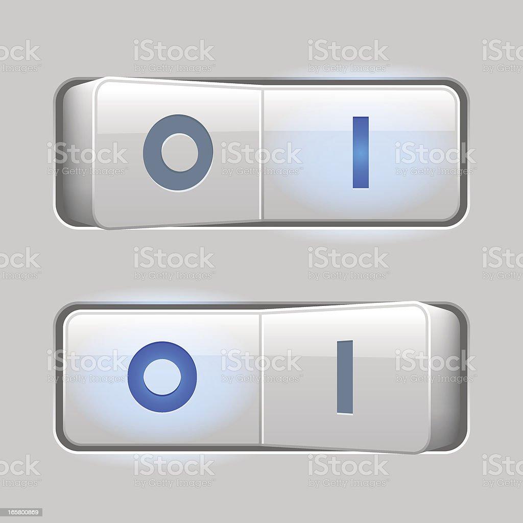 Switches light (OI) vector art illustration