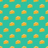 istock Switzerland Swiss Cheese Seamless Pattern 1048466954