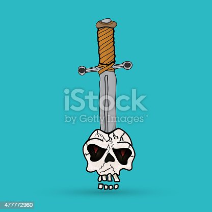 sword in the skull