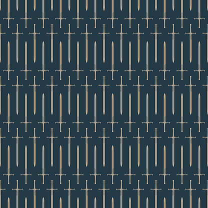 Sword Seamless Pattern