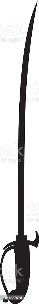 Sword royalty-free stock vector art