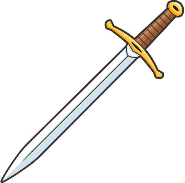 칼 - sword stock illustrations