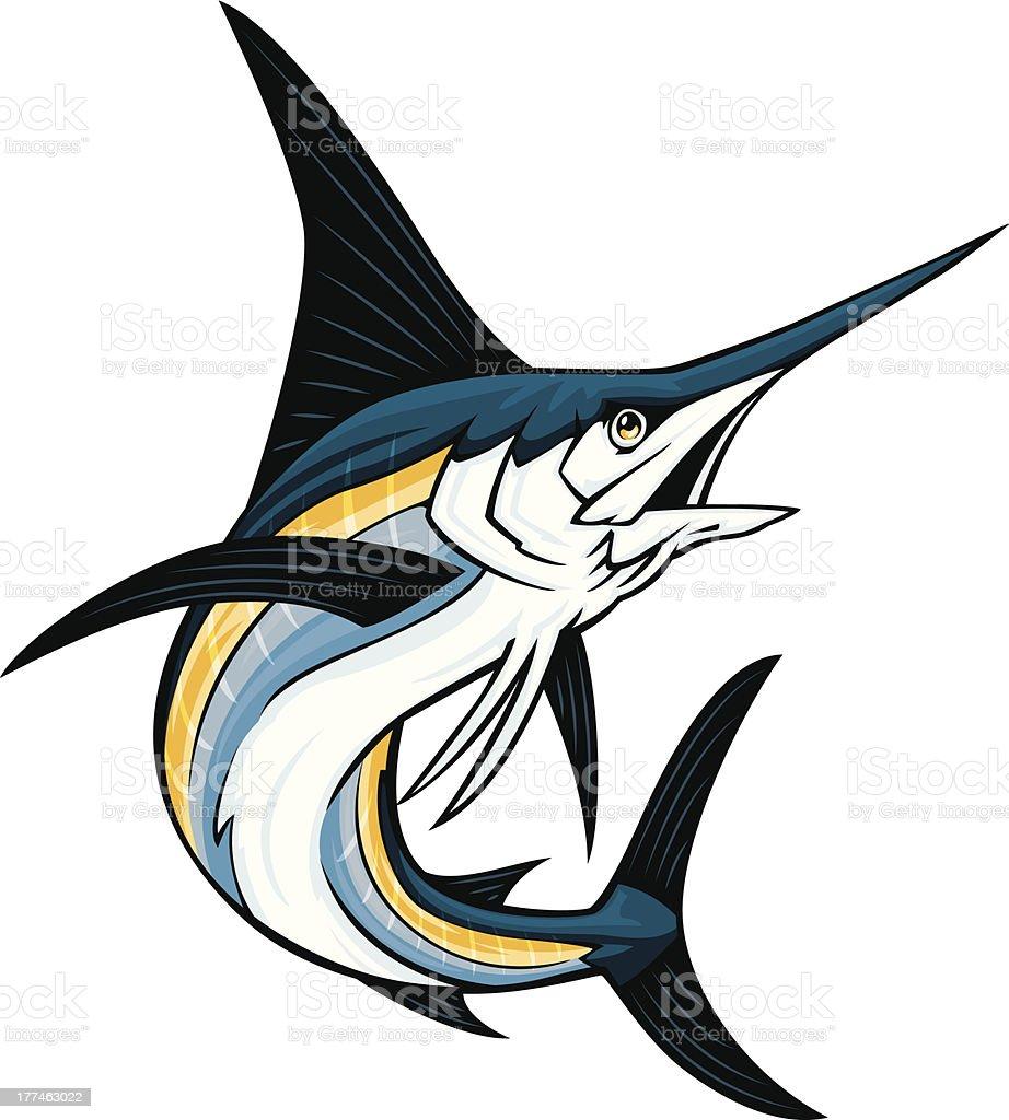 Swordfish stock vector art more images of cartoon - Dessin espadon ...