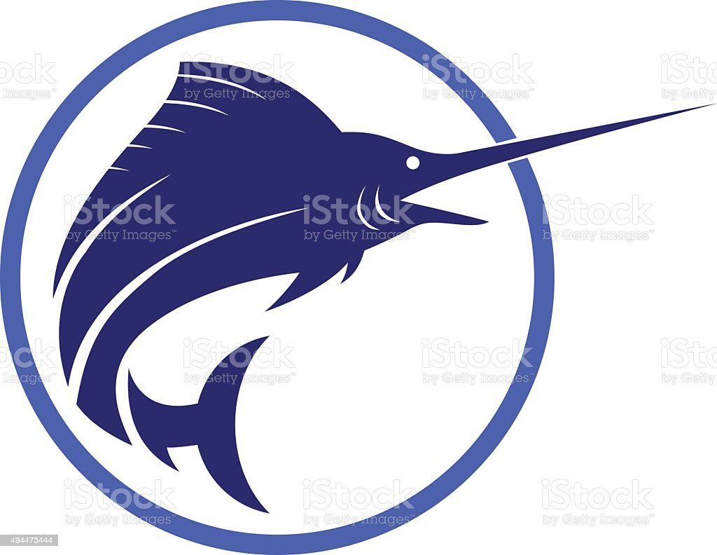 royalty free swordfish clip art vector images illustrations istock rh istockphoto com swordfish outline clipart swordfish clipart free