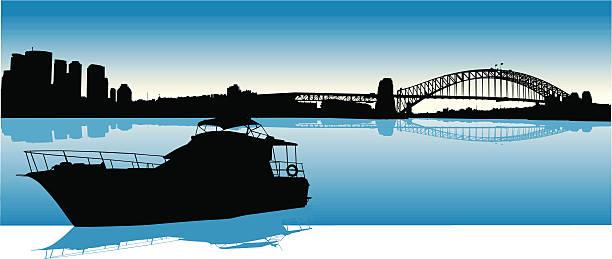 Best Sydney Harbor Bridge Illustrations, Royalty-Free ...