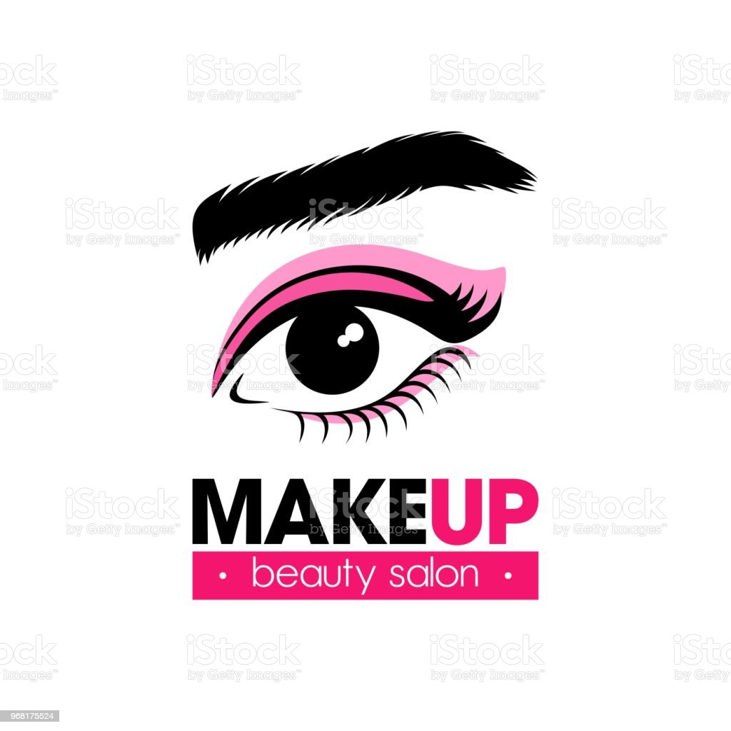 Symbol For Beauty Studio Or Ophthalmology Clinic Stock Vector Art
