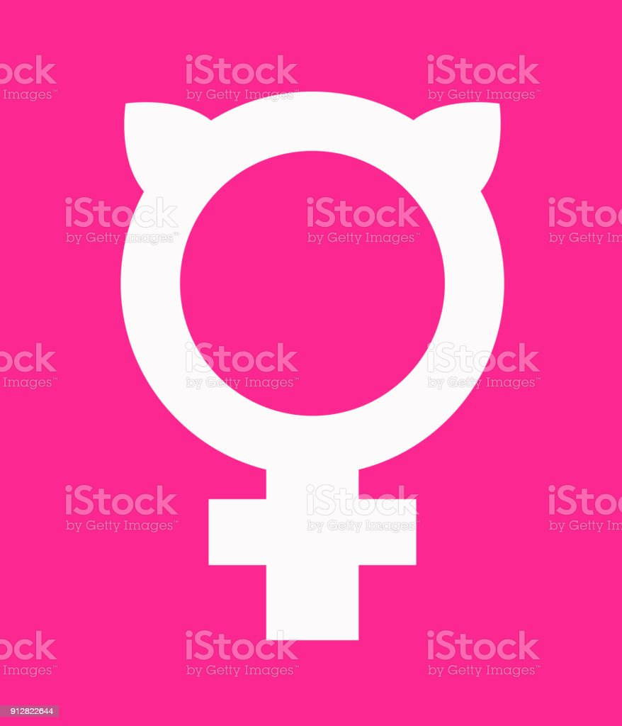 Symbol for female combined with pussy ears vector icon design stock symbol for female combined with pussy ears vector icon design royalty free symbol biocorpaavc Gallery