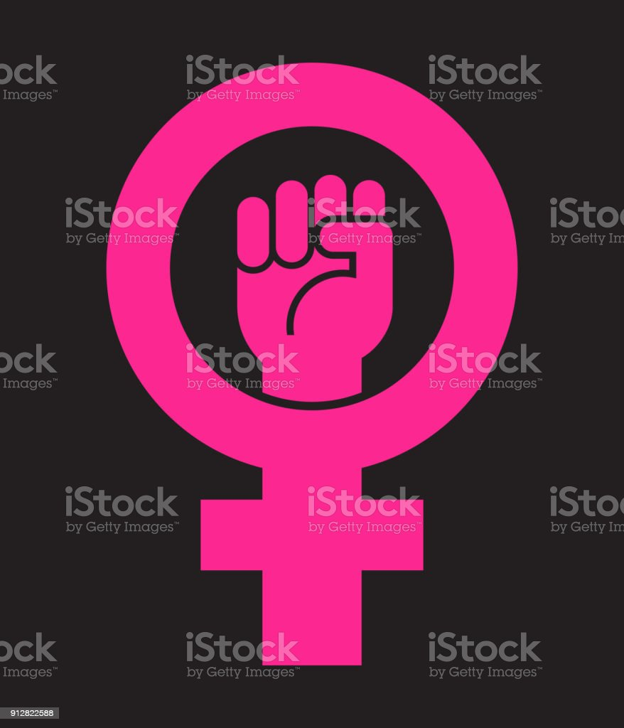Symbol for submissive choice image symbols and meanings symbol for female with raised fist vector icon design stock vector symbol for female with raised biocorpaavc Choice Image