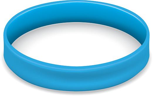 Vetores de Ícone De Símbolo De Luta E Consciência Pulseira Azul Ideal Para Materiais Educativos E Informativos e mais imagens de Arte, Cultura e Espetáculo