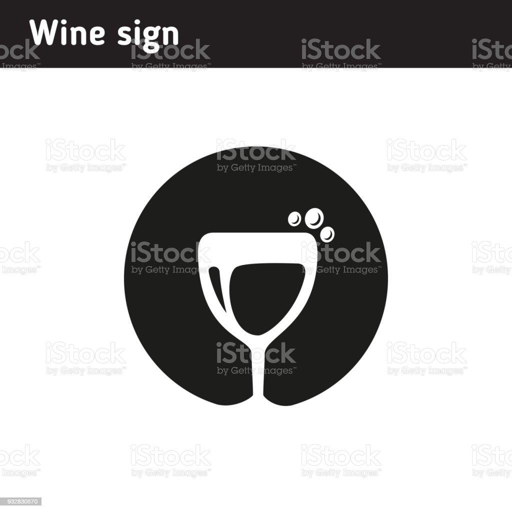 Symbol in the form of a glass of wine suitable for activities symbol in the form of a glass of wine suitable for activities related to winemaking biocorpaavc Gallery