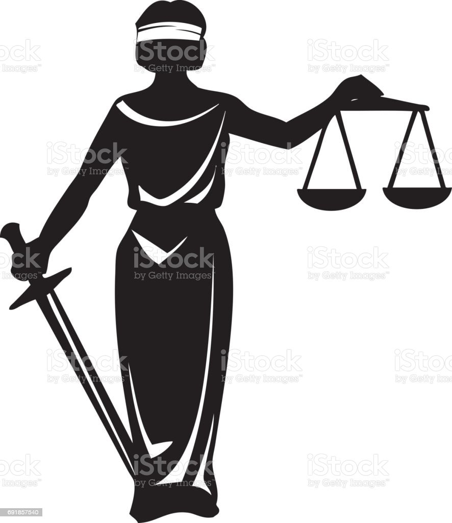 royalty free lady justice clip art vector images