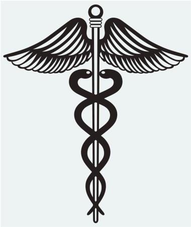 シンボル医療ヘルメスの杖 - イラストレーションのベクターアート素材や画像を多数ご用意