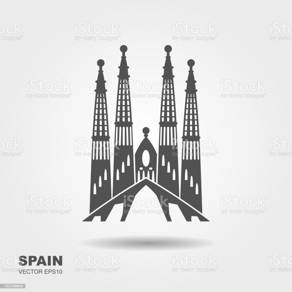 バルセロナサグラダ ファミリアのシンボル アイコンのベクターアート素材や画像を多数ご用意 Istock