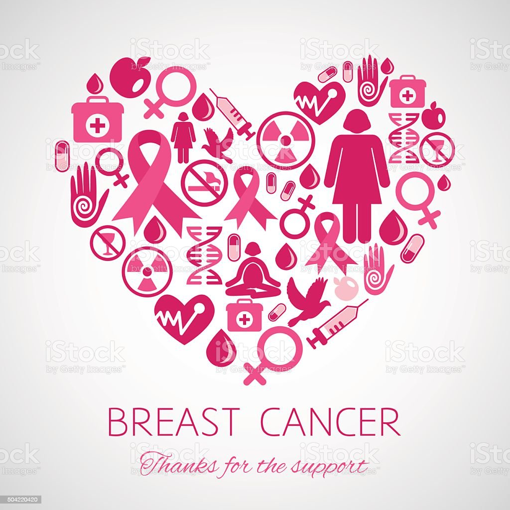 Symbol Of Breast Cancer Awareness Stock Vector Art More Images Of