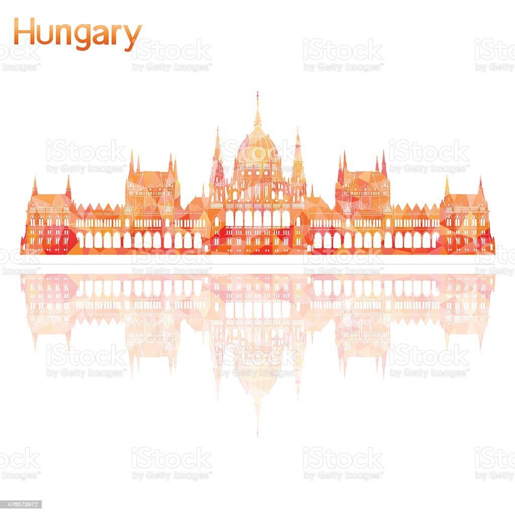 symbol der Ungarn, Vektor-illustration – Vektorgrafik