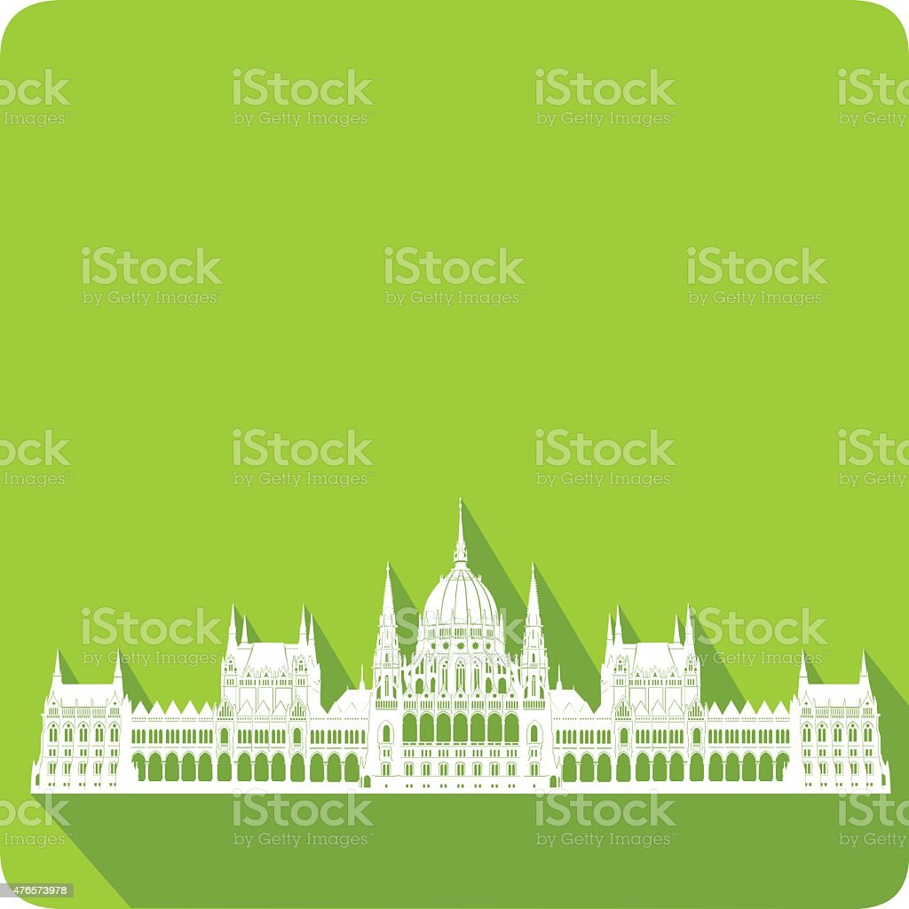 symbol of Hungary, vector illustration vector art illustration