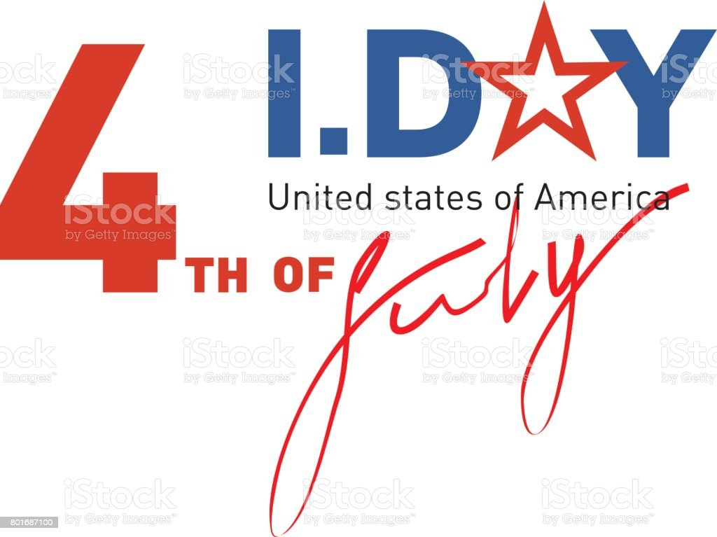 Symbol Of Independence Day United States Of America Also Referred To