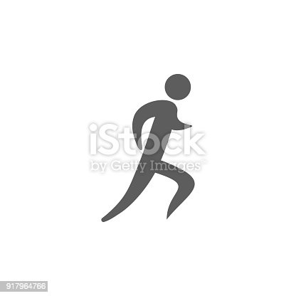 Symbol Of The Runner Icon Element Of Sport For Mobile Concept And