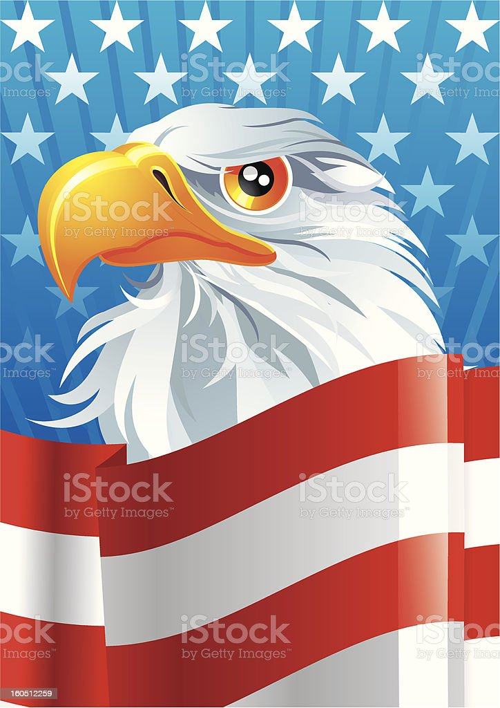 Symbol of USA royalty-free symbol of usa stock vector art & more images of backgrounds
