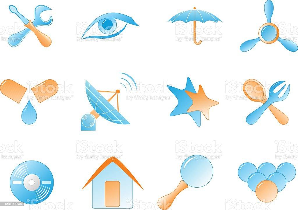 symbol set – Vektorgrafik