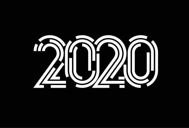 2020 symbol vector art illustration