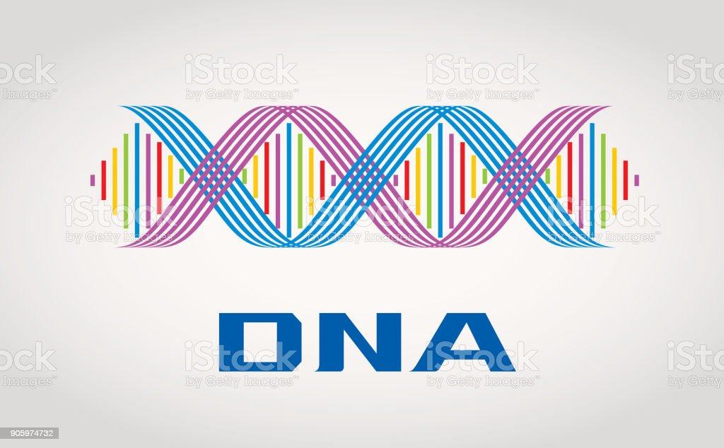 DNA-Symbol – Vektorgrafik