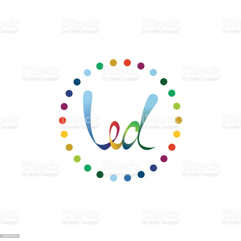 Led Symbol Vector Illustration Stock Vector Art & More Images of Art ...