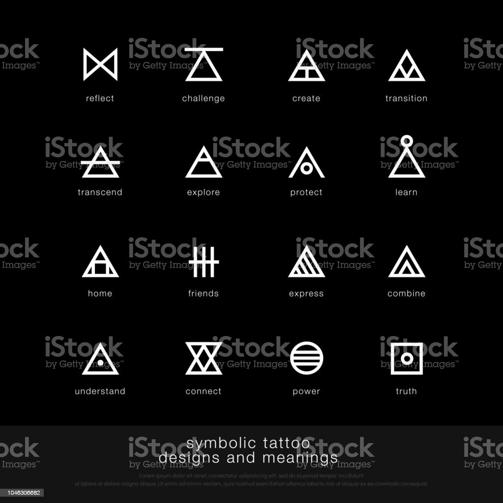 Bedeutung tattoo zeichen Das spirituelle