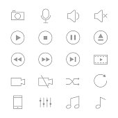This is graphics vector Illustration icons. Ready to use for websites, social medias, presentations, applications, info graphic and illustrations.