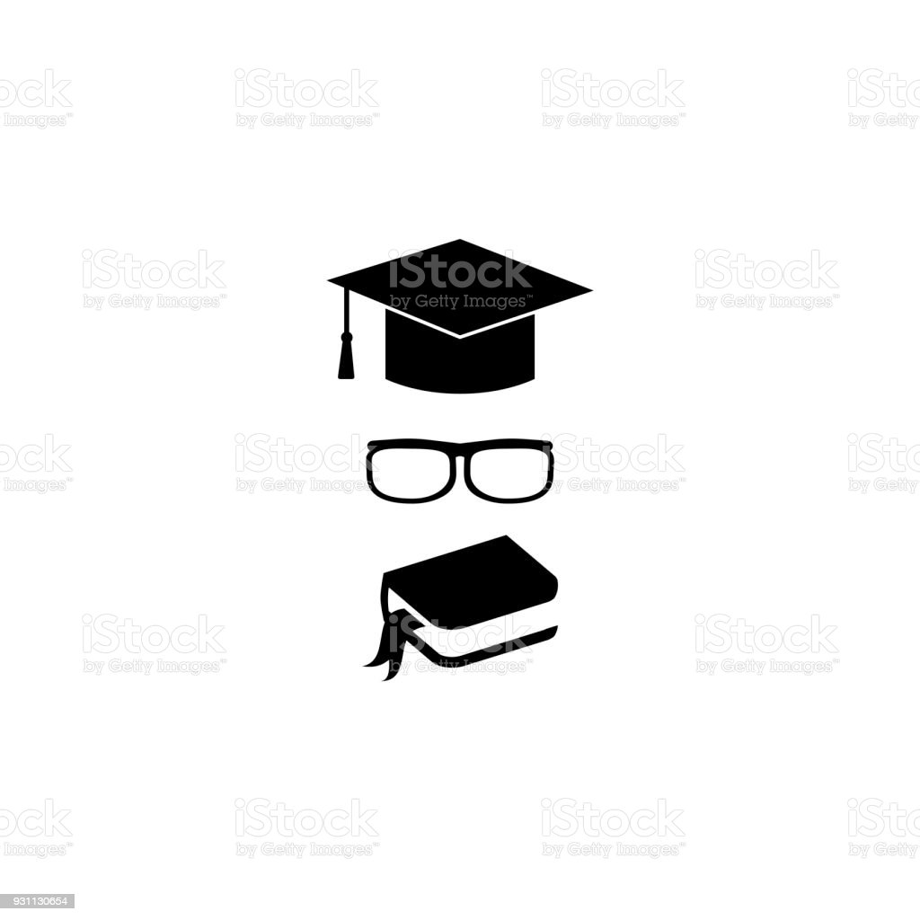 Symbols Of Education Stock Vector Art More Images Of Achievement
