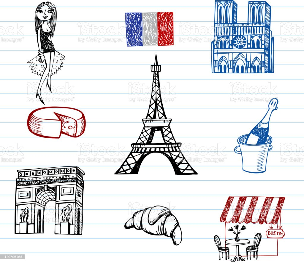 Symbols of france stock vector art more images of adult symbols of france royalty free symbols of france stock vector art amp more images biocorpaavc
