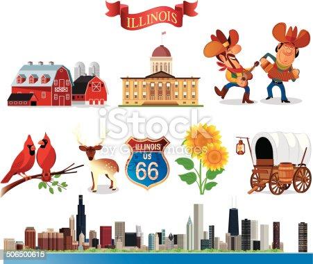 Vector Symbols of Illinois