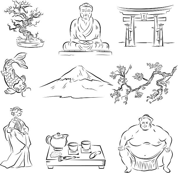 Royalty Free Japanese Tea Ceremony Clip Art, Vector Images ...