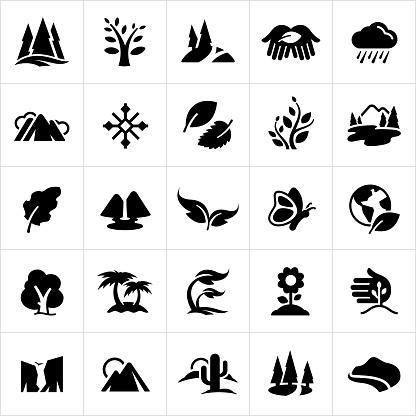 Symbols of Nature Icons