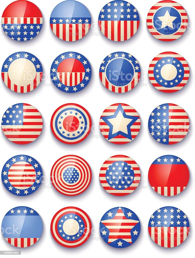 Symbols Of The Usa Stock Vector Art More Images Of American